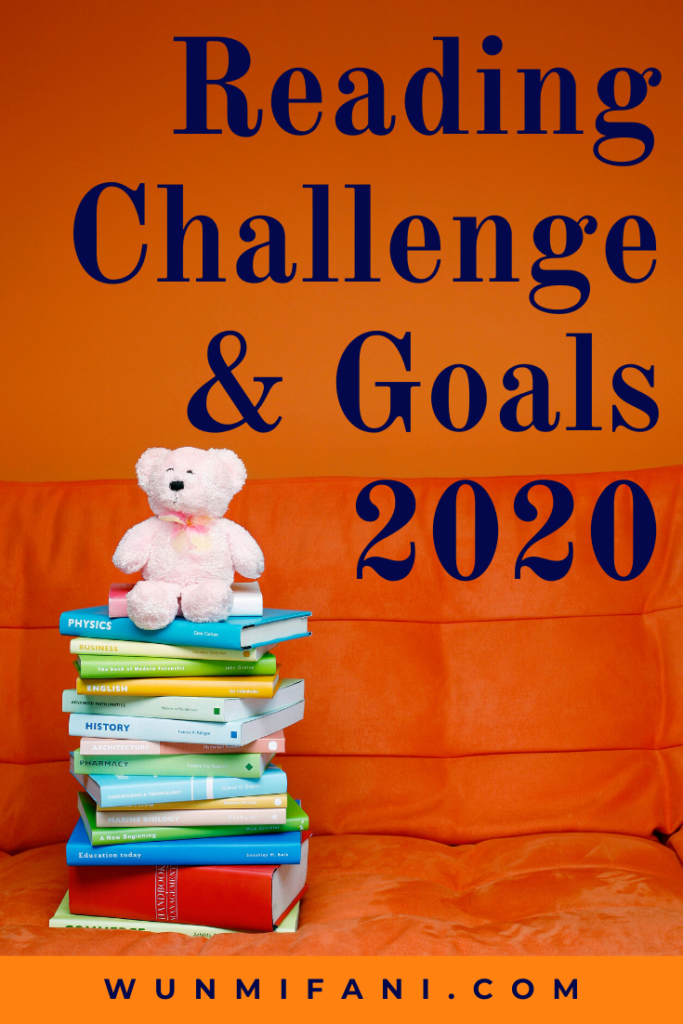 reading challenge and goals for 2020