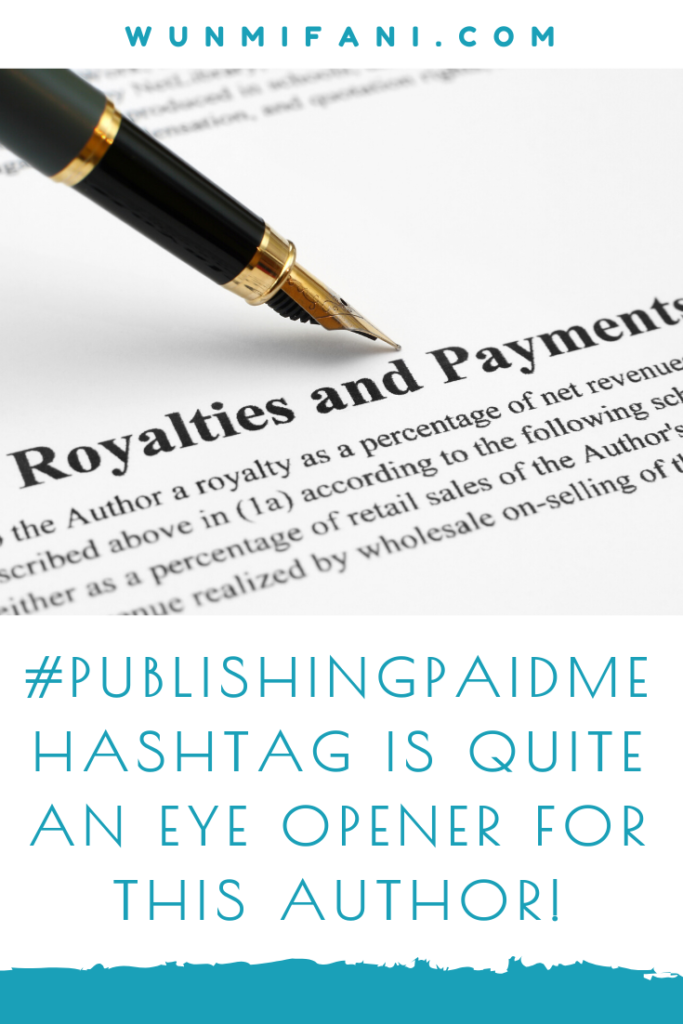 #PublishingPaidMe Hashtag