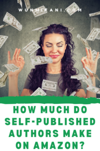 How much do self published authors make on amazon