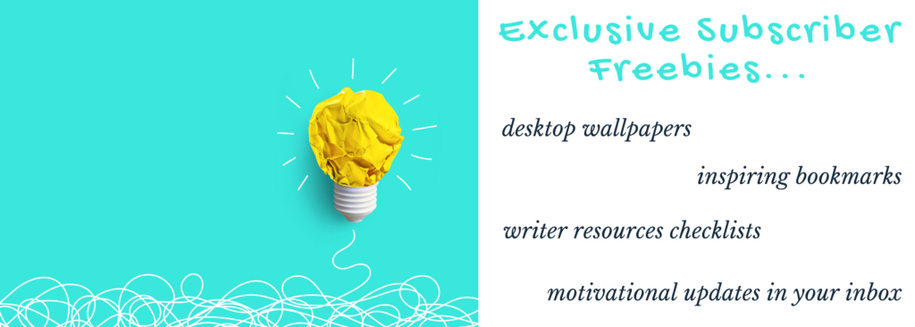 Motivational and inspirational writer freebies