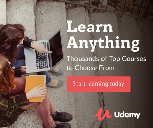 learn anything on Udemy