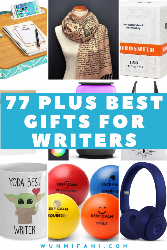 77 Plus Best Gifts for Writers