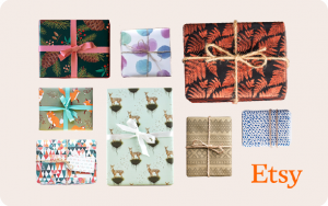 Etsy Gift Cards for Every Ocassion
