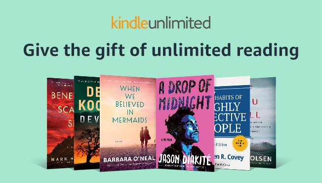 Give the gift of kindle unlimited