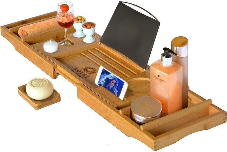 Natural Luxury Bamboo Bath Tub