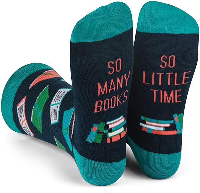 So Many Books, So Little Time Socks