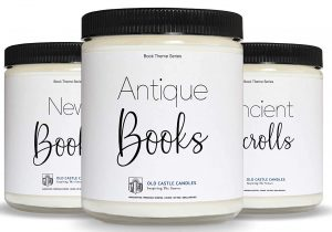 The Library Candle Set