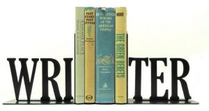 Writer Bookends