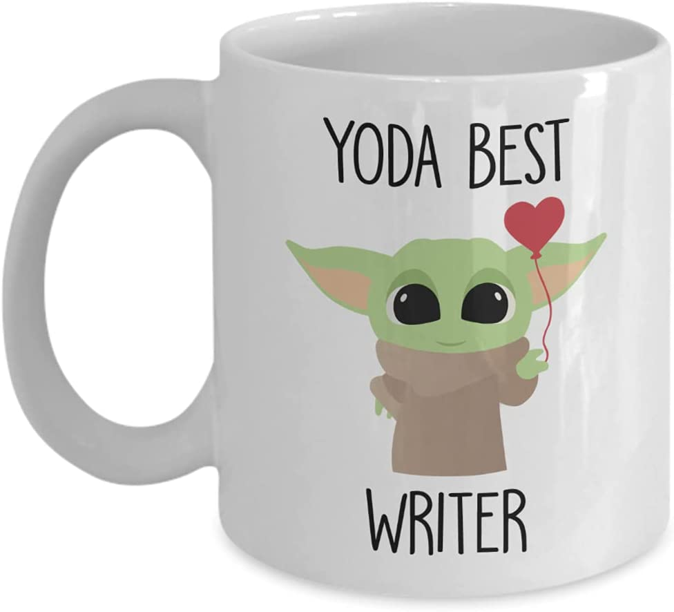 Yoda Best Writer Mug